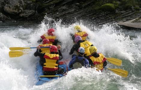 Rafting i Sjoa, Raftingpakke