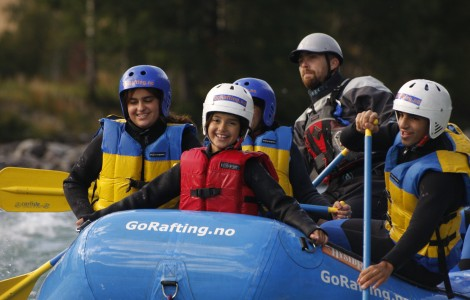 Family rafting package