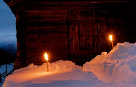 Julebord på Nordre Ekre -Gardsjulebord