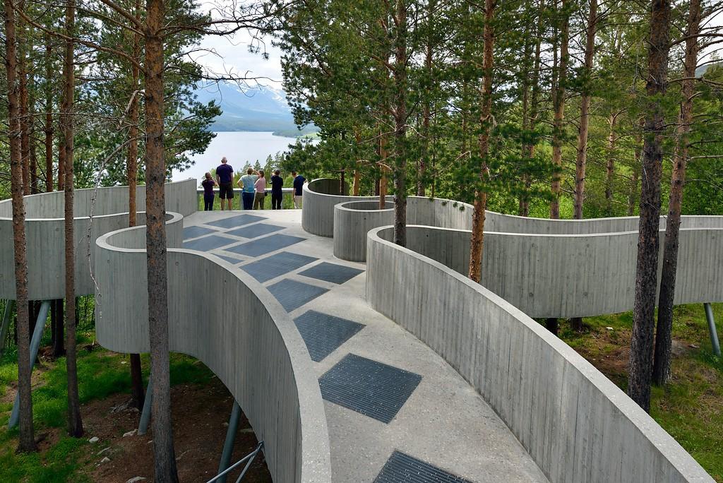 Sohlbergplassen langs Rondanevegen ©Foto: Jarle Wæhler / Statens vegvesen