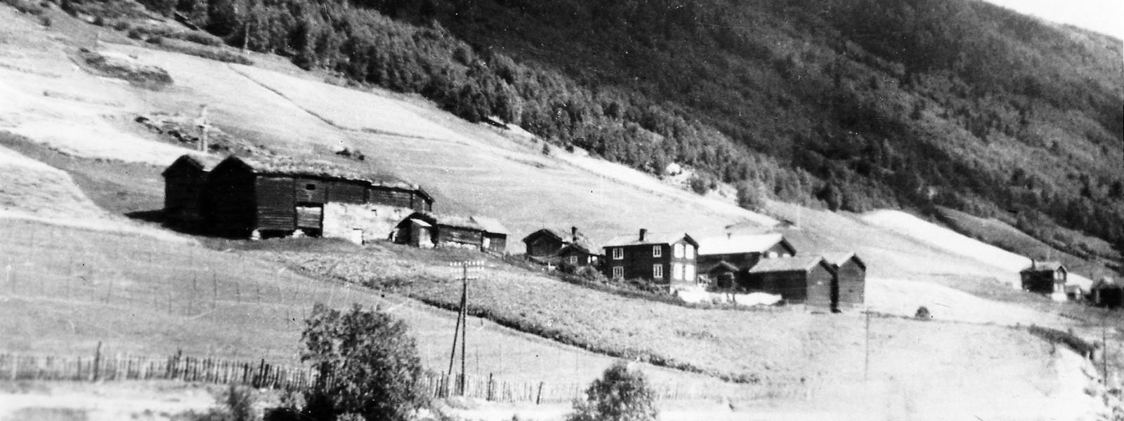 Nordre Ekre på 1940 tallet